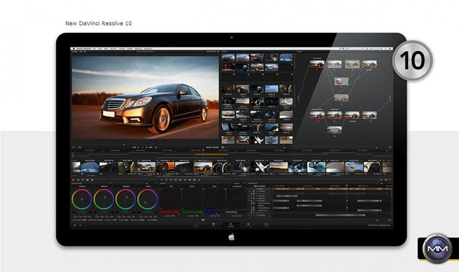 Blackmagic Design Announces New Desktop Video 10