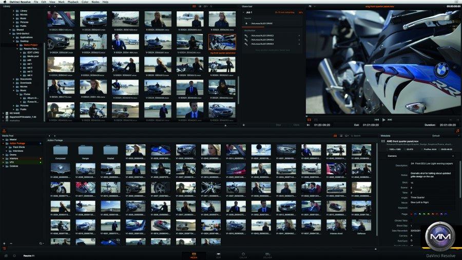 Редактор видео Blackmagic DaVinci Resolve: 11 версия уже в июне.